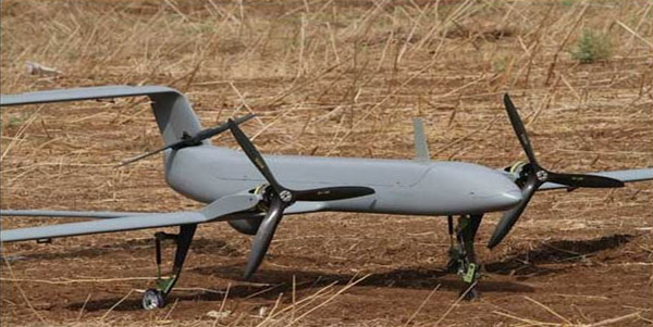 MH-VTOL-1 fixed-wing unmanned aerial vehicle