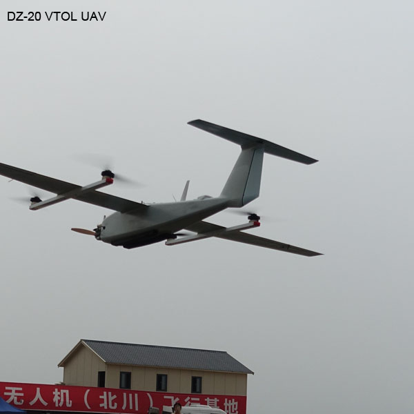 Long Range Vertical-Takeoff-landing UAV