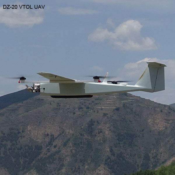 6 Hours VTOL Unmanned Aerial Vehicles