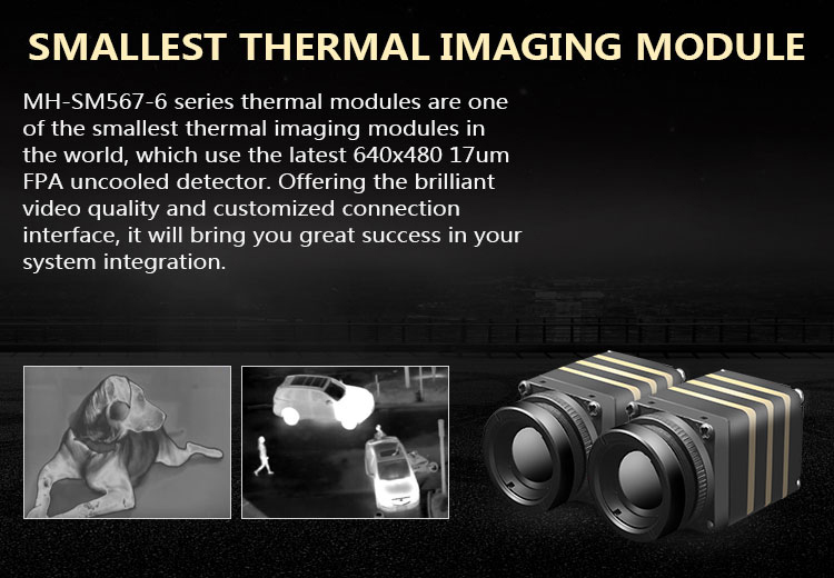 Infrared Cameras and Modules for Detailed, High-Resolution Images